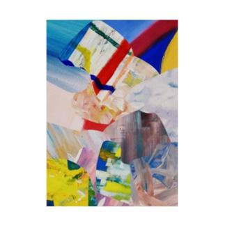 ATELIER SUIのHIDEコラージュ Stickable poster