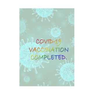 VACCINATION COMPLETED(NS) Stickable Poster