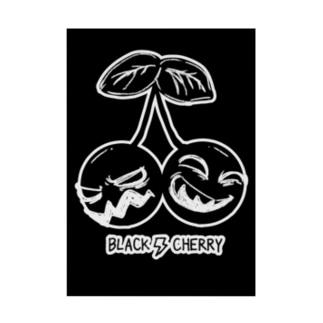 Black Cherry Stickable Poster
