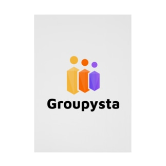 Groupysta公式グッズ Stickable Poster