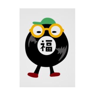 DJちゃん Stickable Poster