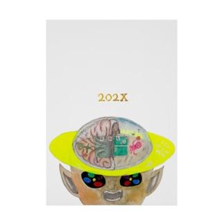【明るめ】【ちょい上め】NEW OLYMPIX『202X』 Stickable poster