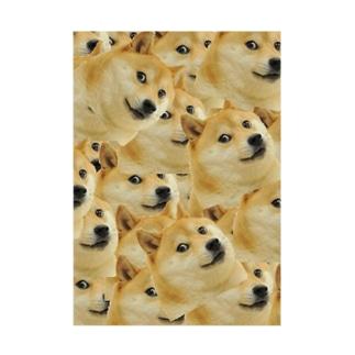 Doge Stickable poster