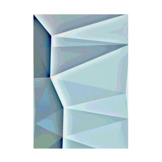 NonGeometricDegitalArt Stickable tarpaulin