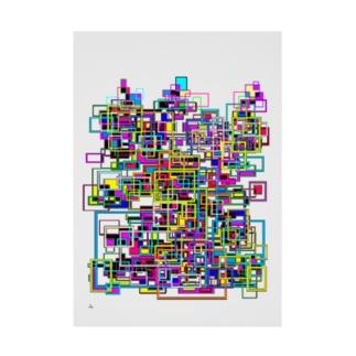 Asai8823のMetropolitan(メトロポリタン) Stickable Poster