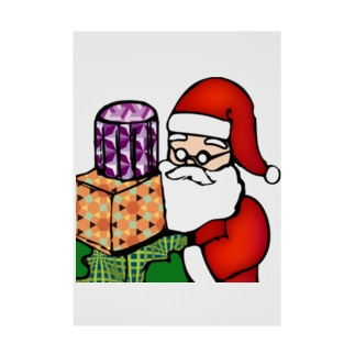 Logic RockStar ICON  Santa Stickable tarpaulin