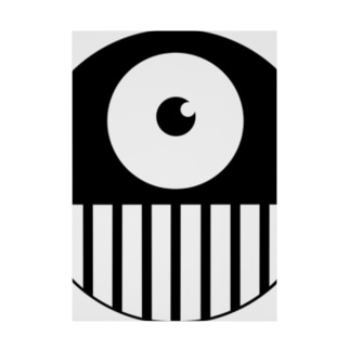 CYCLOPS-POP Stickable poster