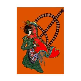 恋の弓キリキリ Stickable tarpaulin