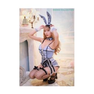 Osiris Collection ターポリンポスター/バニー Stickable poster