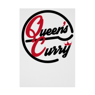 QueensCurry Stickable poster