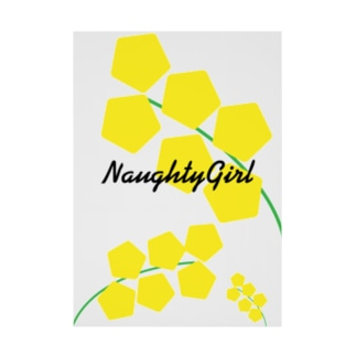 Naughty Girl Stickable poster