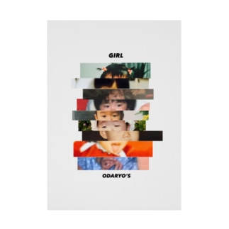ODARYO'S Stickable poster