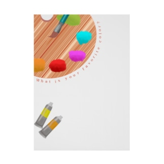 What is your favorite color? Stickable poster