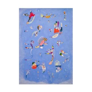 ワシリー・カンディンスキー 《空の青》 Stickable poster