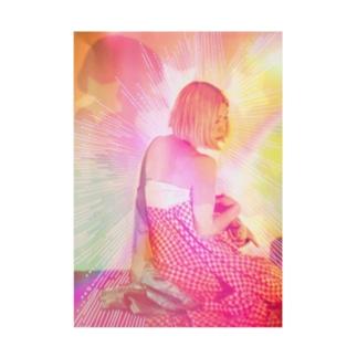 バックプリント ナビ ビビビ⚡ Stickable poster