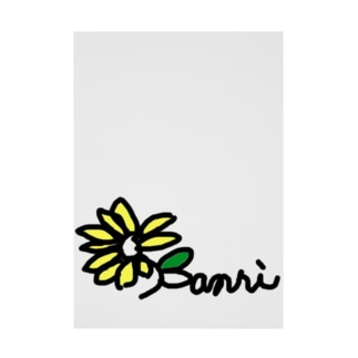 banriマーク Stickable tarpaulin