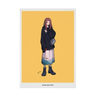 泣き虫と服 3 Stickable poster