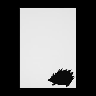 ラルゴのハリネズミ Stickable tarpaulin