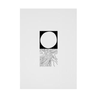 yuragi Stickable Poster