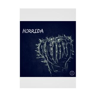 HORRIDA【278】 Stickable poster