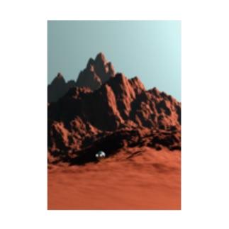 甕邨(ようそん)アバターを置いてみたら宇宙人に見えてしまう件 Stickable poster