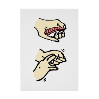 寿司の握り方 Stickable tarpaulin