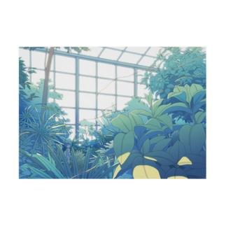 植物園 Stickable tarpaulin