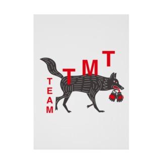 TEAM TMT グッズ Stickable tarpaulin