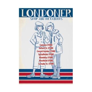 LONDONER Stickable poster