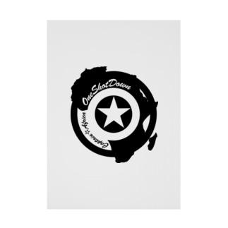 キャプテン☆アフリカ アフリカンシールド(シングルカラー) 吸着ターポリン