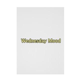Wednesday Mood Stickable tarpaulin