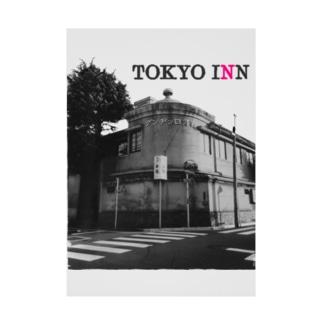 TOKYO INN Stickable tarpaulin