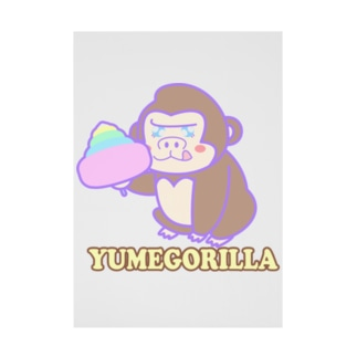 YumeGorilla(ゆめごりら)グッズ 吸着ターポリン