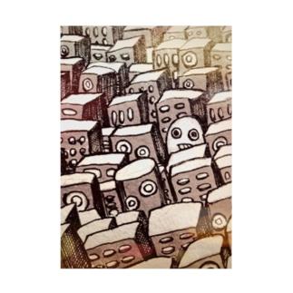 街とヨシヲ Stickable poster