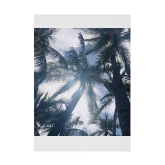 ヤシの木 Stickable tarpaulin