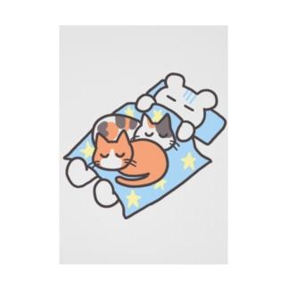 猫のいる生活 Stickable tarpaulin