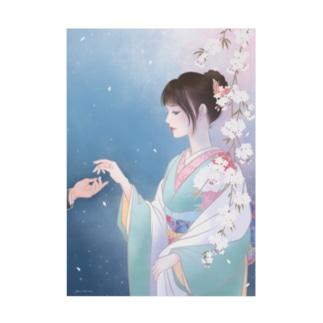 春の宵  Stickable poster