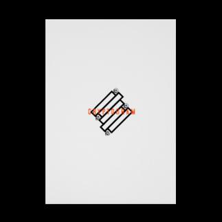 shuma0509のクリプトグラム Stickable tarpaulin
