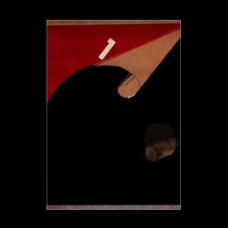 Danke Shoot Coffeeのスピードくじ Stickable tarpaulin