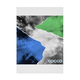 こっこさんのCOCCO・C4 Stickable tarpaulin