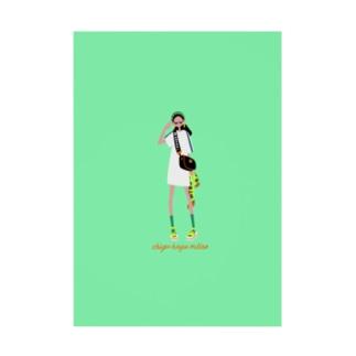 ちぐはぐメトロのFes(背景カラーあり) Stickable poster