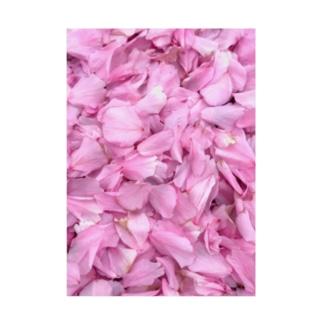 桜 Stickable tarpaulin