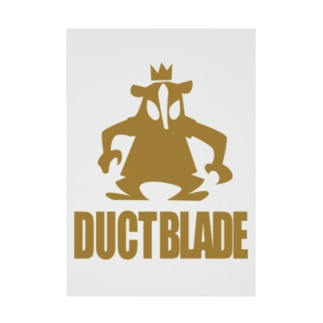 DUCTBLADE Stickable poster