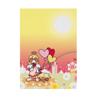 cosmicatiromの天使 Stickable poster