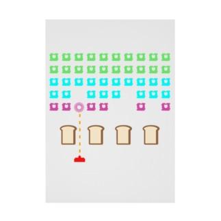 パンベーダーゲーム Stickable Poster