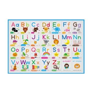 アルファベット表 Stickable poster