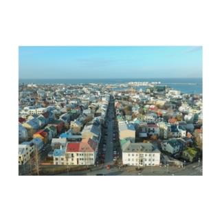 Reykjavík Stickable tarpaulin