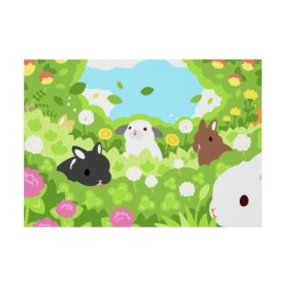 もりもりの森 Stickable poster