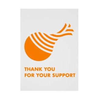 THANK YOU FOR YOUR SUPPORT SHOPのTHANK YOU FOR YOUR SUPPORT Stickable tarpaulin
