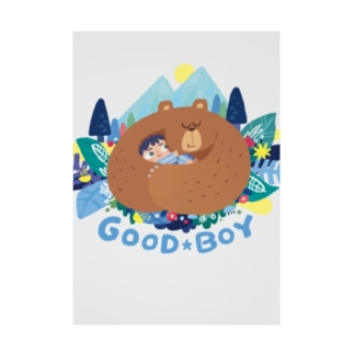 GOOD BOY Stickable poster